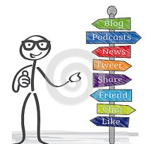 signpost-social-media-keywords