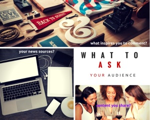 Blog post - 6 questions for your audience